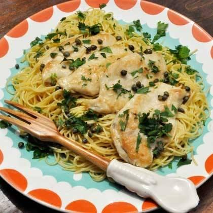 Lemon Chicken with Pasta Recipe