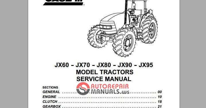 6207_903aac749ea34709cfef323919c48a09 free auto repair manual case ih model tractors jx60 jx70 jx80 case jx 95 wiring diagram at nearapp.co