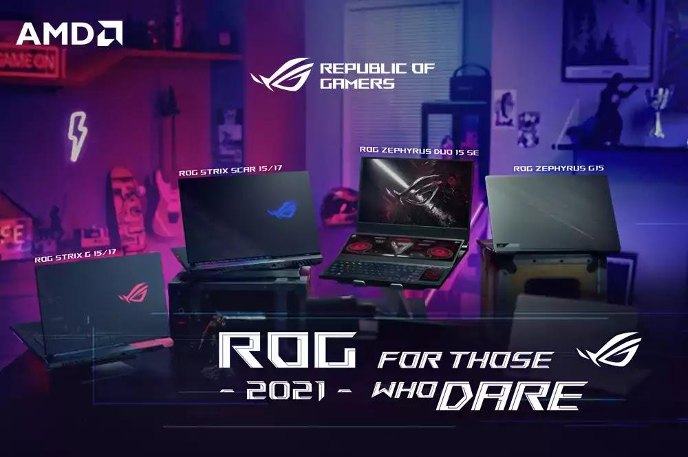 ROG 2021 Gaming Laptops