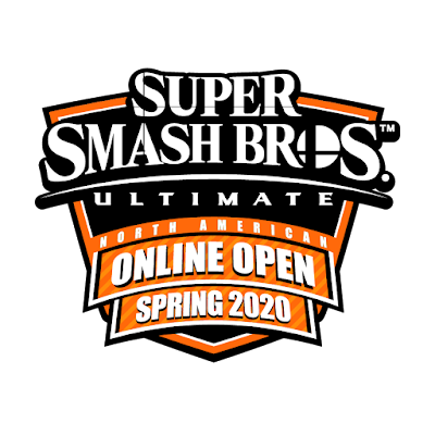 Super Smash Bros. Ultimate North American Online Open Spring 2020 logo Battlefy Nintendo
