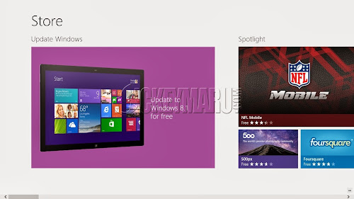 Free update to Windows 8.1