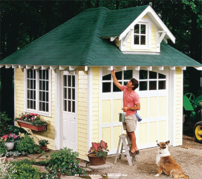. Garden Potting Sheds