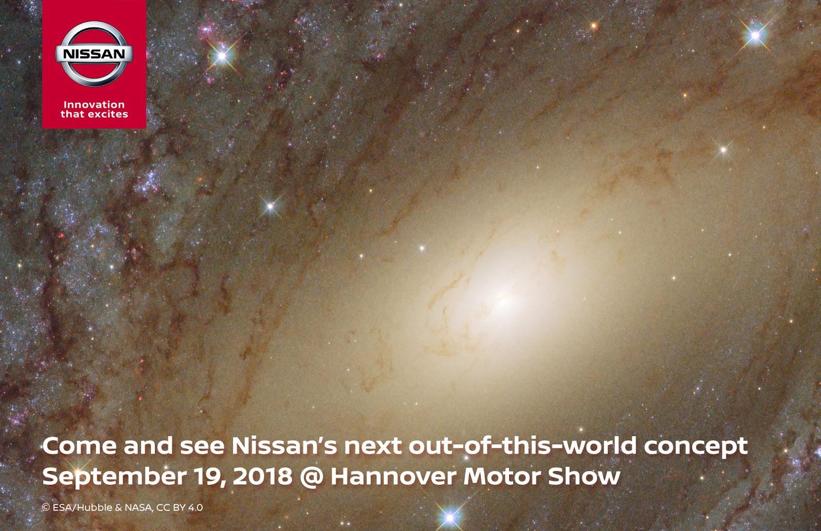 """Η Nissan στην  Έκθεση Επαγγελματικού Αυτοκινήτου (ΙΑΑ) στο Ανόβερο, με ένα """"διαστημικό"""" πρωτότυπο"""