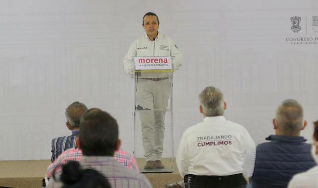 Desde el Congreso de la Unión cimbramos la estructura de un sistema corrupto: Hirepan Maya