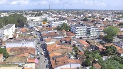 Foto aérea de Cruz das Almas Bahia