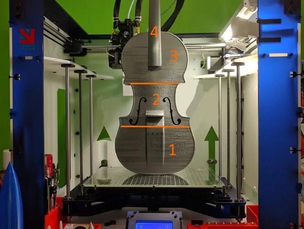 3D Yazıcıda Büyük Parçalar Nasıl Basılır?