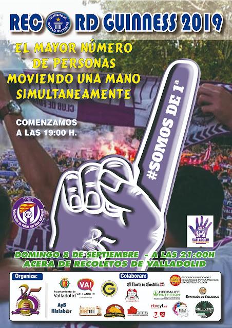 Récord Guinness Ferias y Fiestas Valladolid 2019