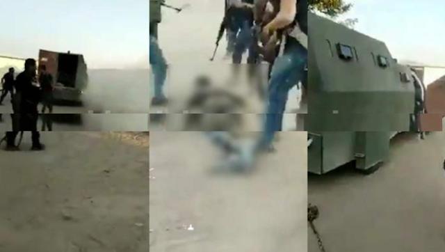 """Sicarios de Carteles Unidos celebran la derrota del CJNG en Michoacán torturando un cadáver, reportan la muerte del """"M2"""" líder del CJNG en el Estado"""