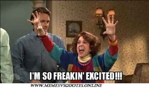 30 Best Excited Memes That Shows Our Real Excitement ...
