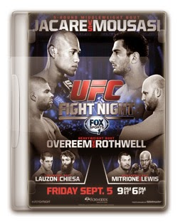 UFC Fight Night 50: Ronaldo Jacaré x Gegard Mousasi