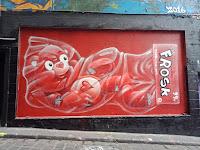 Hosier Lane Street Art | Frosk