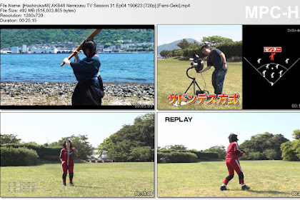 AKB48 Nemousu TV Season 31 Ep04 190623 (Fami-Geki)
