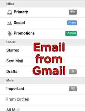 ईमेल का फ़ॉर्मेट