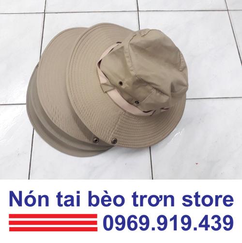 Lý do các doanh nghiệp tại Tp Hồ Chí Minh đều chọn NÓN TAI BÈO  trơn làm sản phẩm đồng phục đội nhóm