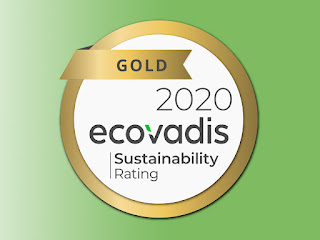 Diamond Packaging Awarded Gold in 2020 EcoVadis Corporate Social Responsibility (CSR) Assessment