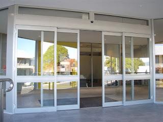 cara pasang pintu kaca otomatis