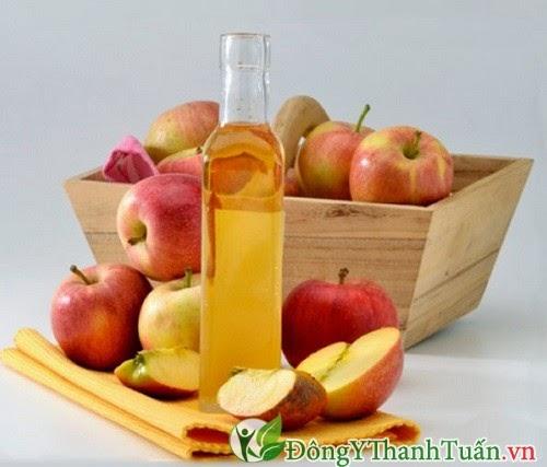 Chữa bệnh đau dạ dày bằng giấm táo