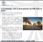 Studio di Ambromobiliare sul translisting da AIM Italia a MTA