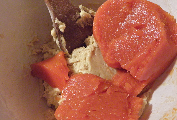 Adding Persimmon to Batter