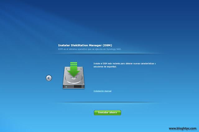 Puesta en marcha DiskStation Manager