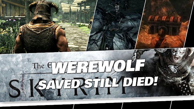 SKYRIM in 2020! Saved a Werewolf, Died in The End!