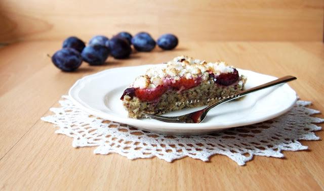 Ciasto fit ze śliwkami, po którym nie przytyjesz (bez glutenu, jaj i mleka)