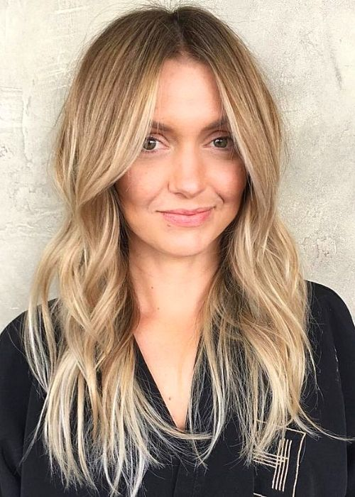 Curtain Bangs- Flattering Hairstyles for Oval Face