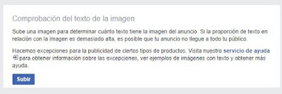 Probar la cantidad de texto permitido para un aviso de Facebook - Facebook Ads