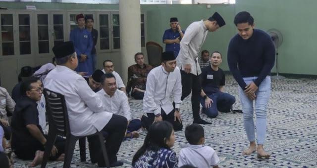 Elite Demokrat Puji Kesederhanaan Kaesang Saat Melayat Ani Yudhoyono