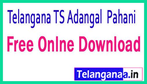 Telangana TS-Land Records Aadhar Linking Free web site ccla