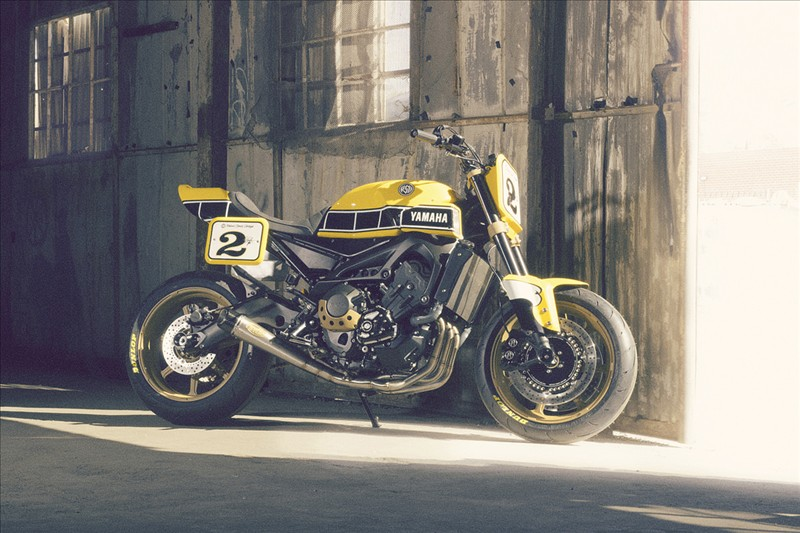 Novelty motorcycle 2016: Yamaha Yard Built 900 «Faster Wasp»
