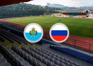 Россия - Сан-Марино смотреть онлайн бесплатно 19 ноября 2019 прямая трансляция в 22:45 МСК.
