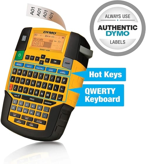 Review DYMO 1801611 Industrial Label Maker