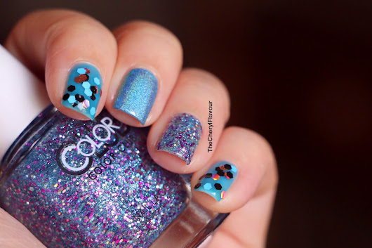 Blue Themed Nails!
