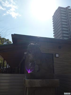 長柄八幡宮狛犬