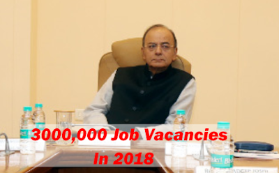 300,000 Estimated job vacancies