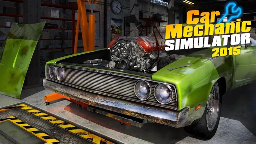 Car Mechanic Simulator 2015 Download Poster