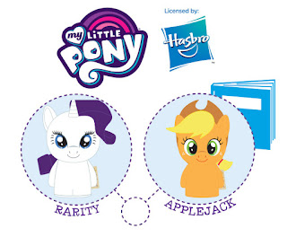 Rarity and Applejack Itty Bitty Plush To Be Released With Storybook