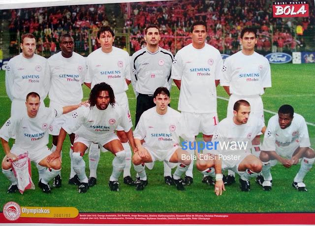 Poster Tim Olympiakos 2001