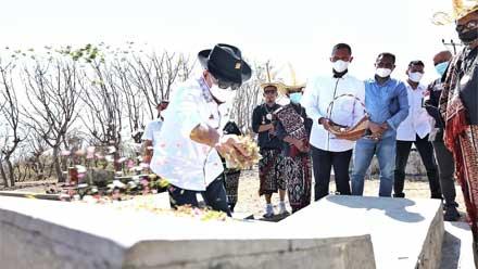 Ketua DPD RI Ziarah ke Makam Raja-Raja Termanu