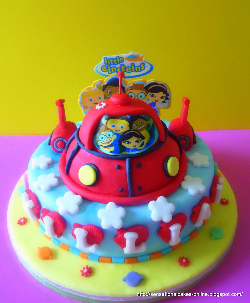 Cakes2share Singapore 3d Little Einsteins Cake Singapore The