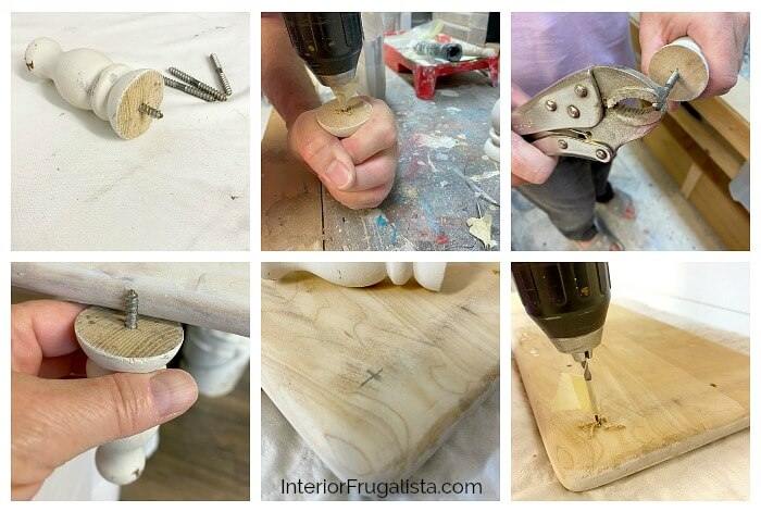 DIY Wood Riser Feet