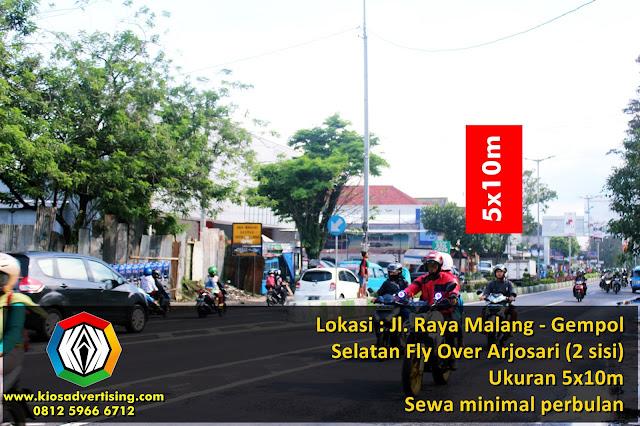Sewa Titik Billboard Murah Per Bulan Malang