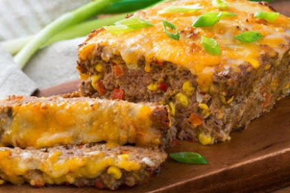 Delicious Mexican Meatloaf