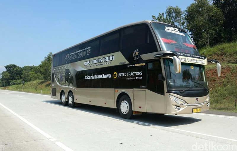 Bus Trans Jawa Rute Jakarta Surabaya