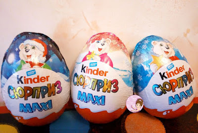 Kinder Maxi Egg Toys for Christmas 2019