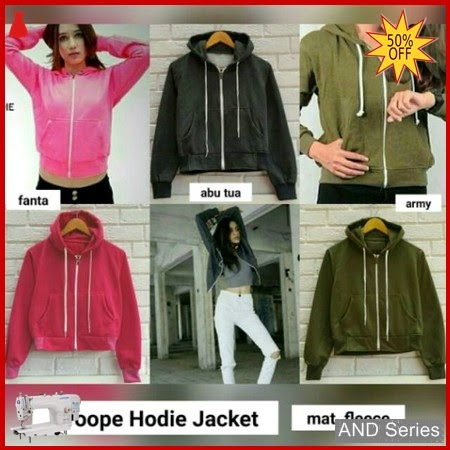 AND039 Jaket Wanita Croope Hoodie Jacket BMGShop