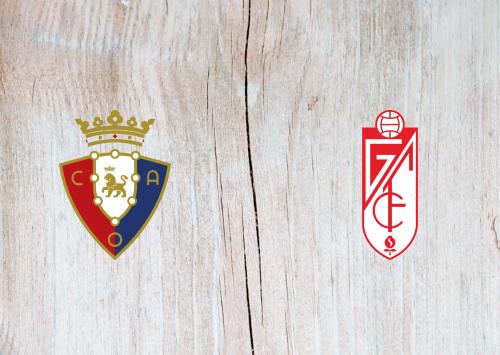 Osasuna vs Granada -Highlights 24 January 2021