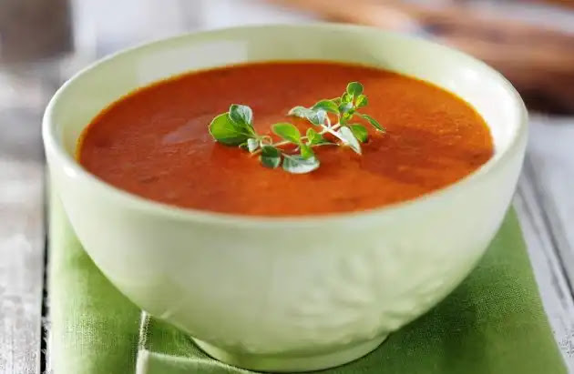 How to make healthy tomato soup recipe at home