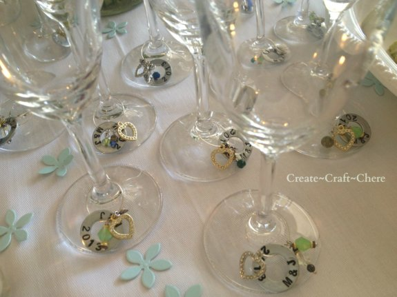 Flat Washer Stamped Glass Charms  Finish Your Crafts
